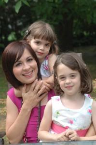 Én és lányaim :)